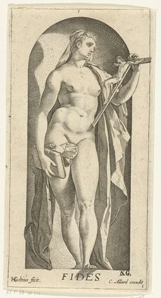 1578-1582 and/or 1658-1709,Geloof, Hendrick Goltzius,after Hendrick Goltzius