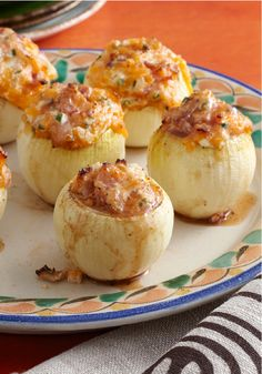 Grilled Stuffed Onions – These morsels of Italian flavor have the savory flair your guests will enjoy, and take only 15 minutes to prep!
