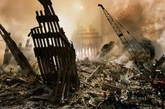 September 11, 2001 | Steve McCurry, photo, ruins, NEVER FORGET, the world in change, tragic, in memory of, crane, America, NY, the entire world is grieving
