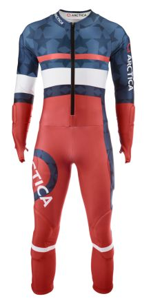 Arctica RaceFlex GS Speed Suit USA. The revolutionary Arctica Raceflex GS speed suit is FIS approved and available for $300 adult/$250 youth. Item: GW168A