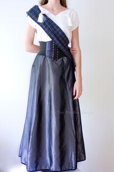 Highland Lass Dress, Made to Order, Scottish Highlands, Highland Renaissance, Scottish Oufit, Brave, Brave Dress, Scottish Hills, Custom by AshTreeMeadowDesigns on Etsy