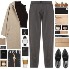 Untitled #2131 by tacoxcat on Polyvore featuring Influence, Emporio Armani, Rochas, Marc by Marc Jacobs, Topshop, Maybelline, NARS Cosmetics, Armand Diradourian, Mead and Le Labo