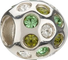 Authentic Chamilia Charm Disco Green Swarovski Retired JB35D *** Be sure to check out this awesome product.