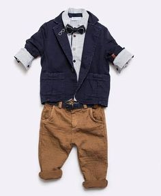 Items similar to Baptism outfit-Boy Outfit Bearer Outfit - Boy First Birthday Outfit-Photo outfit-Ring Boy Suit -NavyJacket with brown pants outfit on Etsy First Birthday Outfits, Boy First Birthday, Boy Baptism Outfit, Baptism Clothes, Wedding Towel Cakes, Brown Pants Outfit, Ring Boy, Ring Bearer Outfit, Navy Jacket
