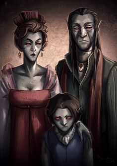 Savel family portrait by TheMinttu.deviantart.com on @deviantART