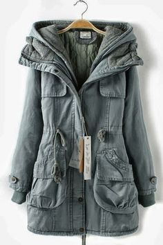 Comfy Fall Hooded Jacket