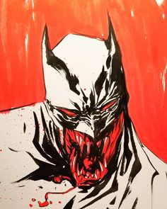 "1,539 Likes, 15 Comments - dustin nguyen (@duss005) on Instagram: ""one more vampire #Batman for the hell of it."""