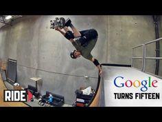▶ Google Turns 15: Tony Hawk Gives 15 Inverts to Google