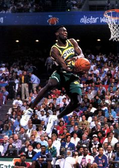 Shawn Kemp's Slam Dunk Contest Sneaker History   Sole Collector