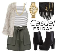 """""""Fashionable & casual friday"""" by camillaermitnavn ❤ liked on Polyvore"""