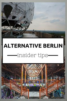 Alternative Berlin Insider Tips. Visit: www.me 18 alternative Berlin insider tips, from abandoned places to unusual tours, quirky museums and a legendary spa. Also includes quirky Berlin hotels! Oh The Places You'll Go, Places To Travel, Travel Destinations, Travel Tips, Places To Visit, Air Travel, Travel Advice, Berlin City Guide, Hamburg Guide