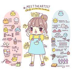 Little Miss Paintbrush's Kawaii Website (www.hello.chi-chi.me) | http://the.rainbowholic.me/kawaii/little-miss-paintbrush-kawaii-website/