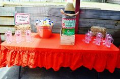 Cowgirl Birthday Party - Alessia turns 5 | CatchMyParty.com