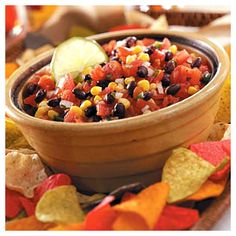 Salsa for a crowd - simple ingredients - can be cut down to size!!!