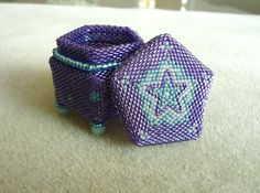 Mystical Beaded Box