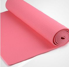 Hot pink PVC YOGA MAT from yogaers.com