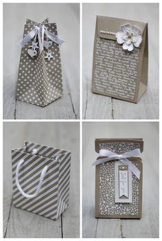 Il y a une éternité que je n'ai pas publié d'article. Pourtant, je veux partager depuis longtempsun grand coup de coeuravec... Paper Folding Crafts, Cool Paper Crafts, Creative Box, Creative Gift Wrapping, Paper Bag Design, Mail Gifts, Craft Packaging, Gift Wraping, Envelope Punch Board