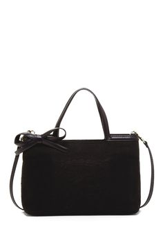 Valentino Small Leather Bow Tote