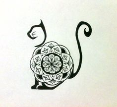 cat mandala - Google Search