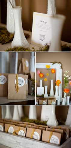 """""""Tea to go"""" baby shower favors"""