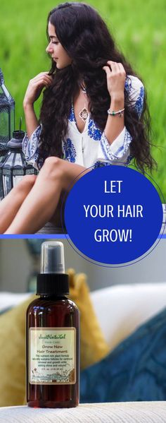 Encourage Your Hair to Grow Faster, Longer  and Fuller with Less Breakage