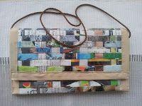 Käsilaukku aikakauslehdistä // Handbag of magazines