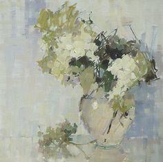 White, Sunday by Nancy Franke ~ 24 x 24