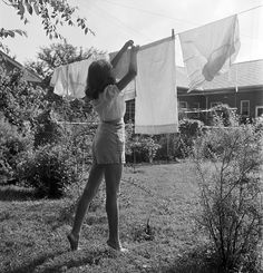 It's a shame that many neighborhoods outright ban clotheslines because there truly is nothing like the fresh scent of line-dried laundry.