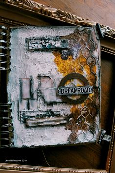 Art journal page - Dreamroad
