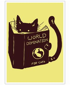 World Domination for Cats VON Tobe Fonseca now on JUNIQE!