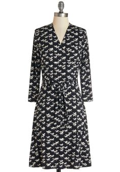 For the Whinny Dress. The key to championing a great look?  #modcloth