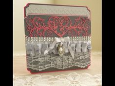 Spellbinders Royal Love Greeting Card