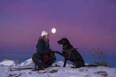 My best Firend - Pinned by Mak Khalaf best on black Nature colddogfriendsfrienshipgirlhotnorgenorwaysnowwarmwinter by JrnAllanPedersen