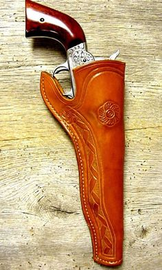 Image detail for -in the Movies: Cowboy Gun Leather | Old West Leather, Buckles, Cowboy ...