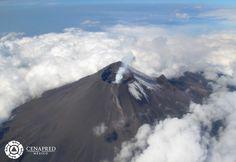 Fotos: El cráter del Popocatépetl