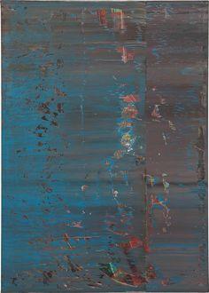 Gerhard Richter Abstraktes Bild 638-4, 1987 Oil on canvas 48 x 341/4 in.