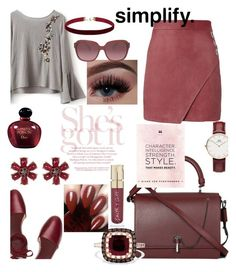 """She's Got It!!!"" by mdfletch ❤ liked on Polyvore featuring Michelle Mason, Tory Burch, Carven, Effy Jewelry, Daniel Wellington, Coach, Joe Fresh, Smith & Cult, Christian Dior and shesgotit"