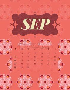 Our September 2014 calendar.