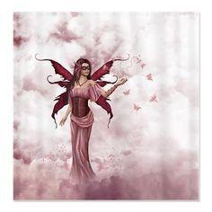 Butterfly Fairy 2 Shower Curtain