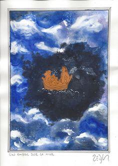 « A darkness on the sea – Un ombre sur la mer » Frank Eric Zeidler