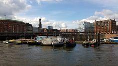 Hamburg - Kanal bei der Speicherstadt - aufgenommen mit dem Nokia Lumia 920