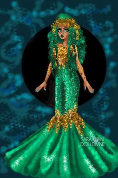 Urban DDNtM - Mythic - Mermaid by ToTheMoon ~ Modern Fashion Dress Up