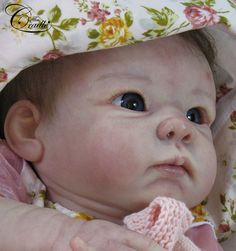 Bethany & CLOTH BODY by Linda Murray  - Online Store - City of Reborn Angels Supplier of Reborn Doll Kits and Supplies