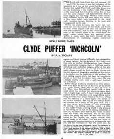 Clyde puffer (1/4) [Форумы Balancer.Ru] The Forth, Model Ships, Sailing, How To Plan, Boats, Steamer, Outdoor, Miniatures, Ideas