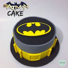 Torta Batman Medellín by Giovanna Carrillo