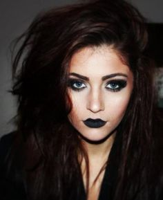 Black makeup... I personally love this and would wear it in a heartbeat.