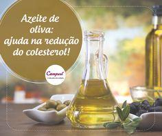 O azeite de oliva contribui para a prevenção de diversas doenças cardíacas, pois ele tem elementos que ajudam a reduzir o bloqueio nas artérias. É uma boa ideia usá-lo na sua alimentação! #dicaCampesí