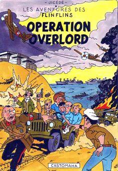 Les Aventures de Tintin - Album Imaginaire - Operation Overlord