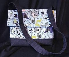 Check out this item in my Etsy shop https://www.etsy.com/uk/listing/220292417/camping-print-messenger-bag-with-pockets