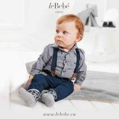 Per i primi freddi autunnali la mamma ha scelto per me una simpatica camicia a quadretti da indossare con i jeans. www.lebebe.eu #fieradiesseremamma #lebebé  #boy #blu #brown #winter #dad #fashion #kids #blue #jeans #autumn #cute